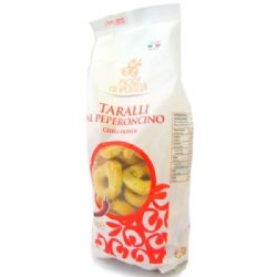 Taralli with Chilli 250g | Peperoncino | Buy Online | Italian Biscuits | UK
